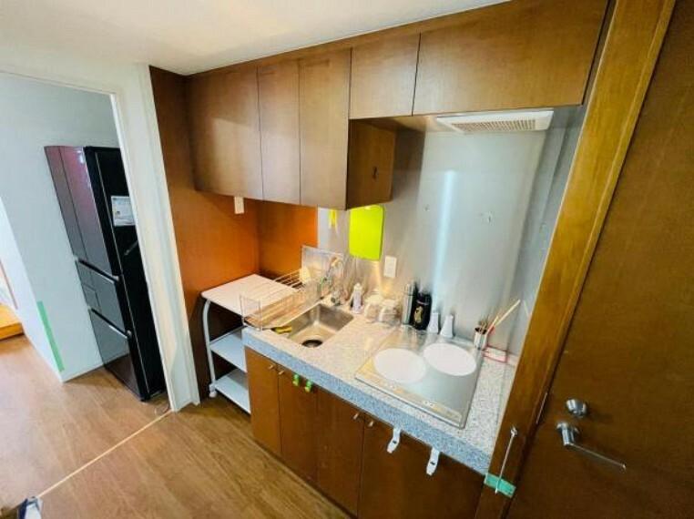 キッチン 2口IHコンロでお料理がはかどります!
