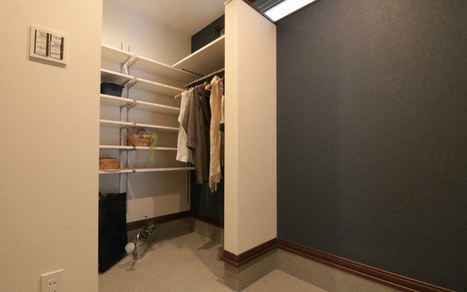 収納 施工例■各お部屋にはクローゼットなどの収納スペースを設け、自然と片付くお部屋に。
