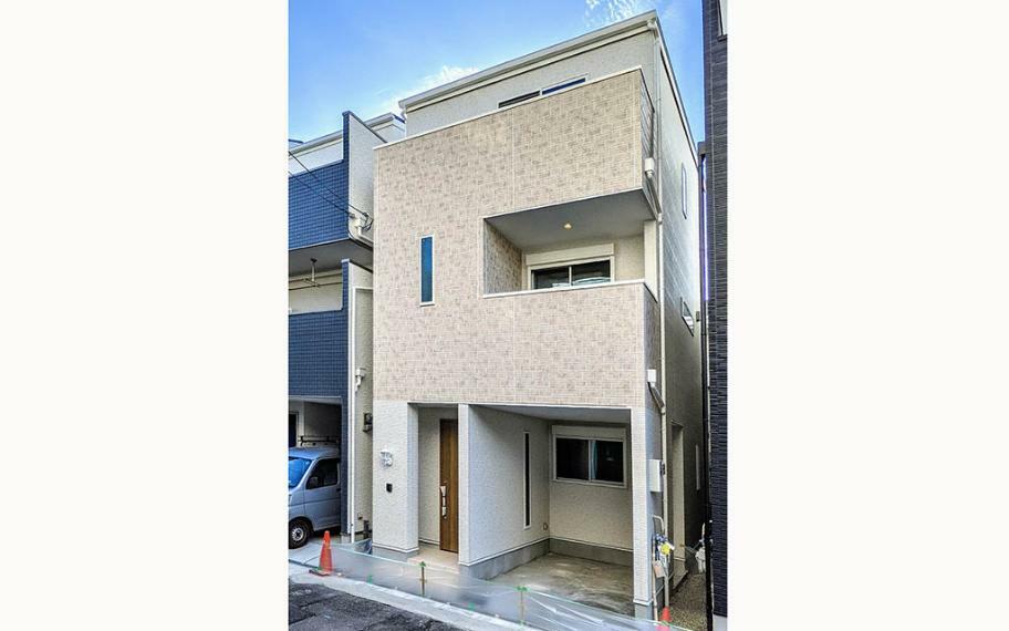 完成予想図(外観) 施工例■お家の建てラインをそろえることで外観も意識したプラン作りをしています。モデルハウス見学はお気軽にお問い合わせください。
