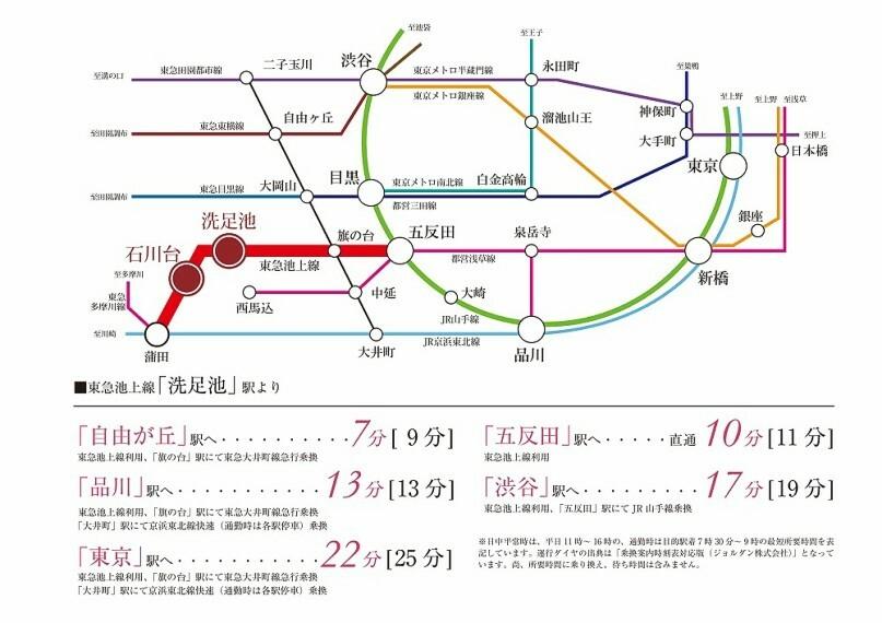 区画図 路線図