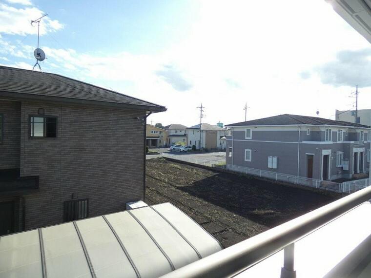 眺望 2階からの眺望になります。