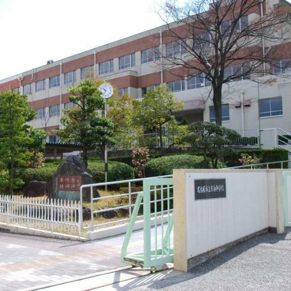 中学校 名古屋市立中学校 天白中学校 愛知県名古屋市天白区池場5丁目1014