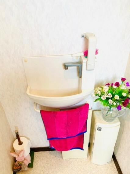トイレ 2階トイレ水洗。