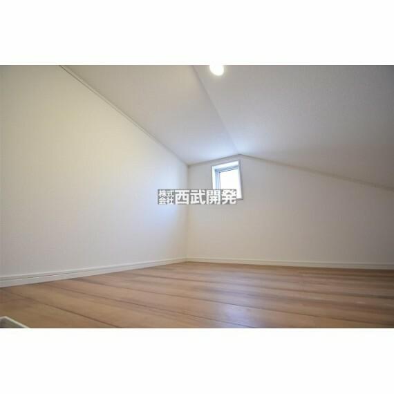 収納 季節物や普段使わない物はグルニエに収納するとお部屋を広く使えますよ。