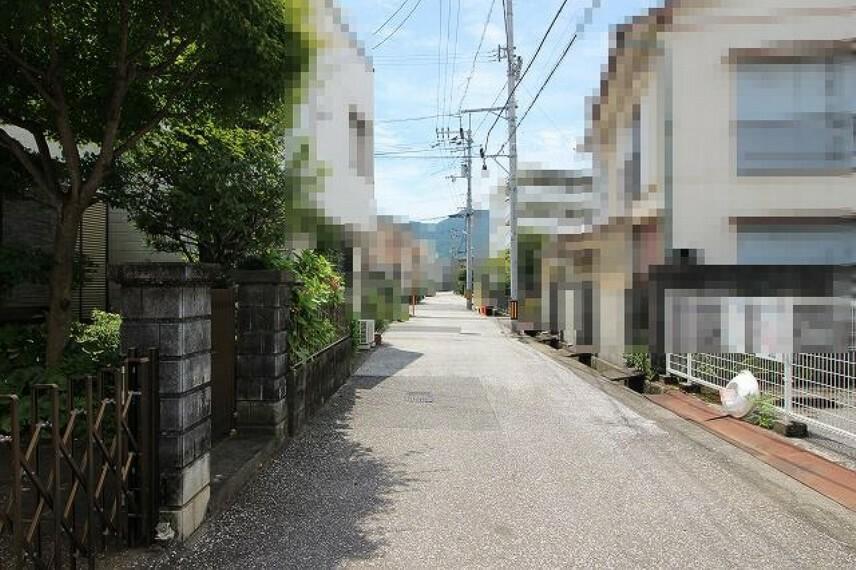 現況写真 前面道路→南