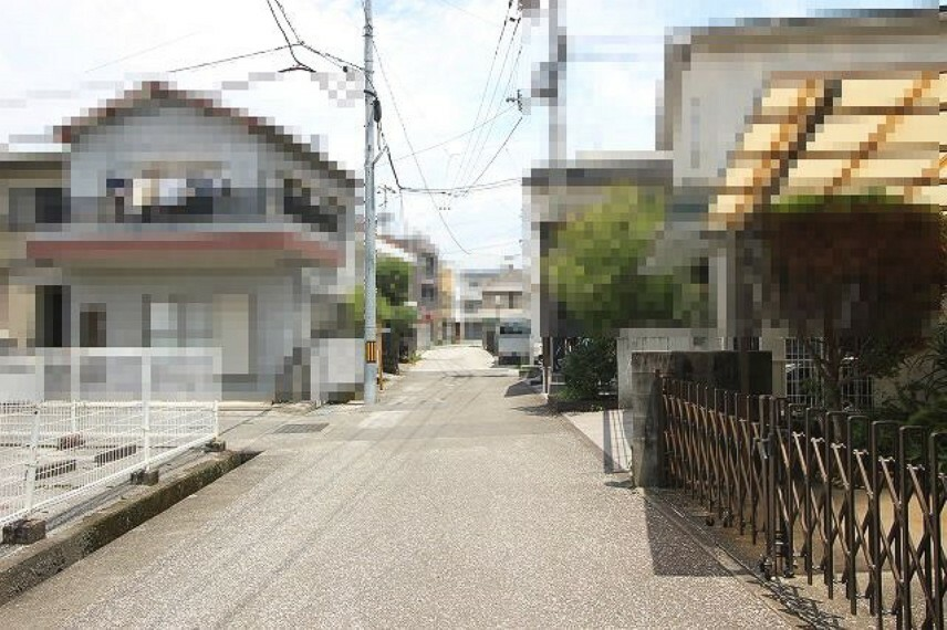 現況写真 前面道路→北