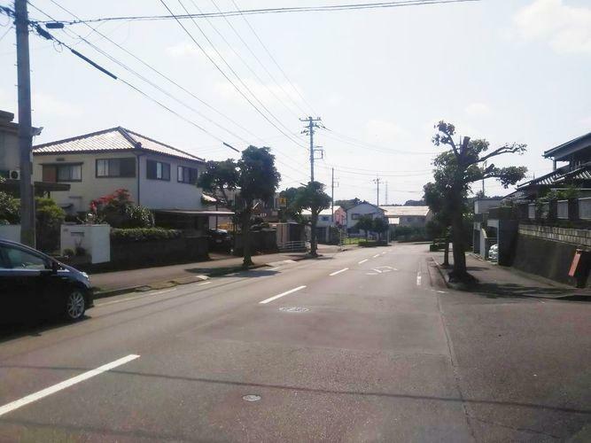 現況写真 南側、前面道路