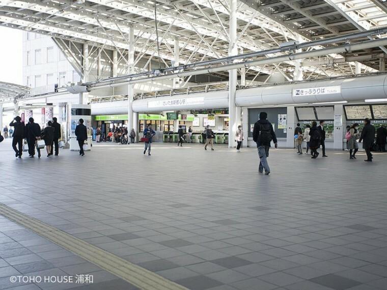JR高崎線・宇都宮線「さいたま新都心」駅