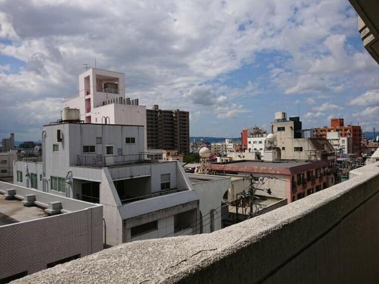 眺望 バルコニーからの眺望です。6階のため眺望も日当たりも良好です。