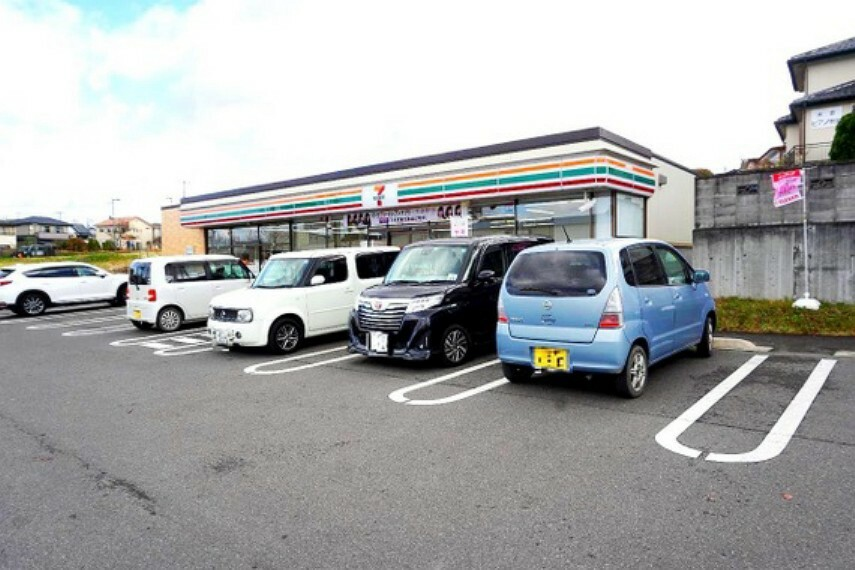 コンビニ セブンイレブン須賀川南上町店まで徒歩約18分です。