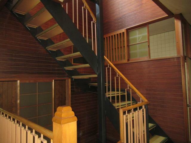 階段室です