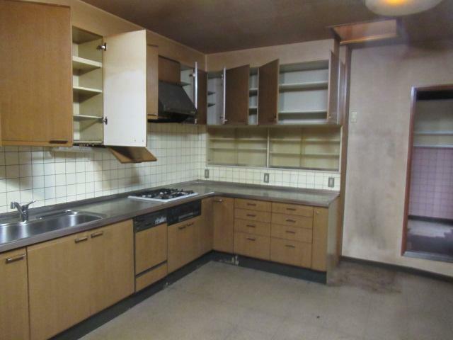 キッチン 広いキッチンです