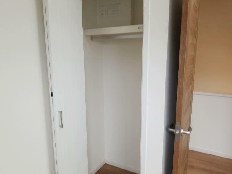 収納 各居室収納設置 上手に使ってお部屋のスペースを無駄なく使えます