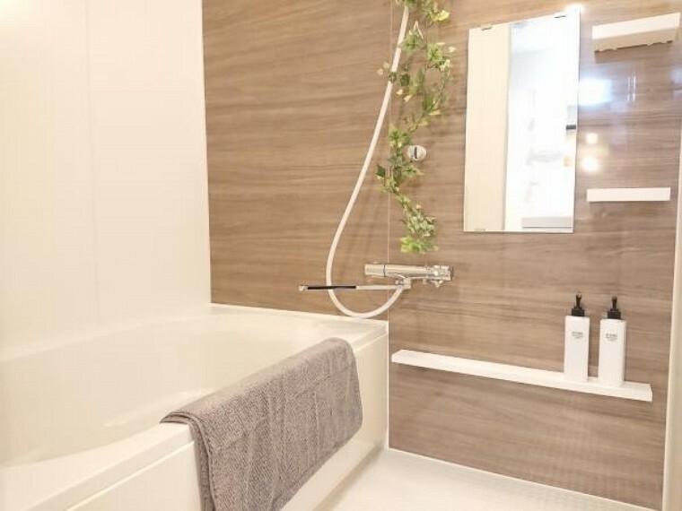 浴室 【リフォーム後写真】ユニットバスは新品交換致しました。コンパクトな浴槽は、水道代の節約になり経済的。お掃除も行き届きます。