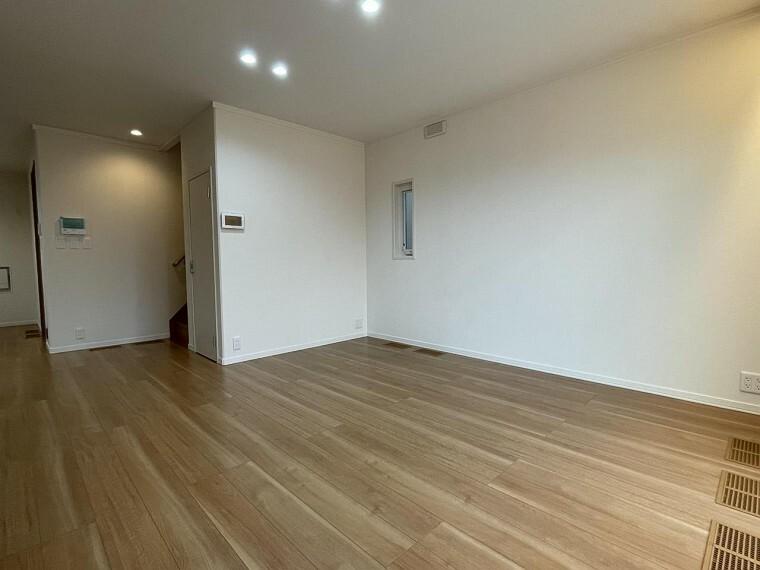 居間・リビング A区画LDK(2021年6月撮影)