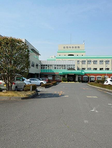 病院 総和中央病院 現地より800m  徒歩10分。