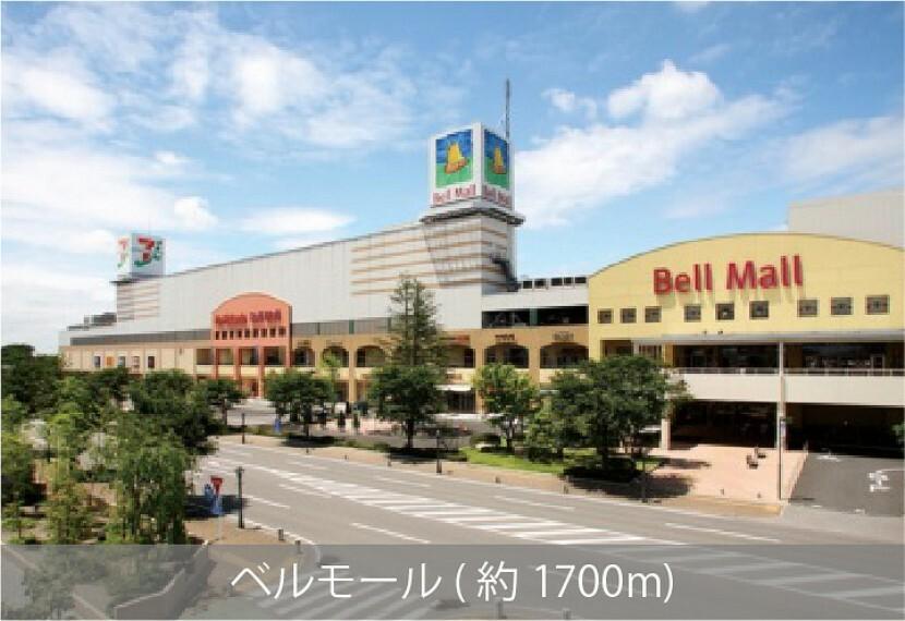 ショッピングセンター ショッピングだけでなく、様々な目的に合わせたアミューズメントエリア。営業時間10:00~21:00