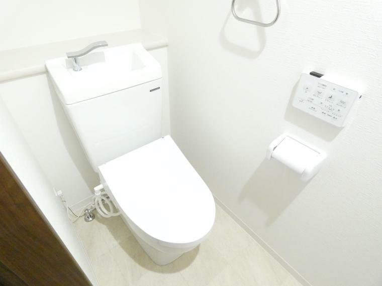 トイレ いつも清潔・快適な温水洗浄つきトイレ