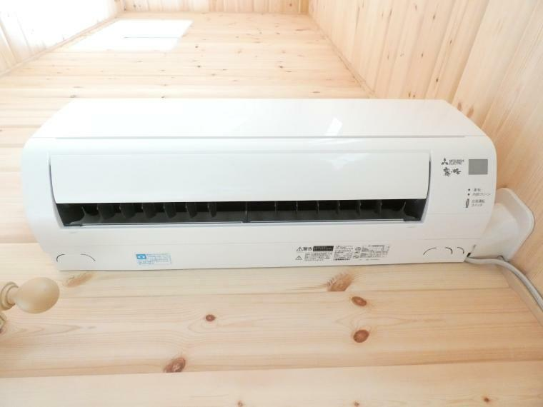 冷暖房・空調設備 エアコンが標準装備です
