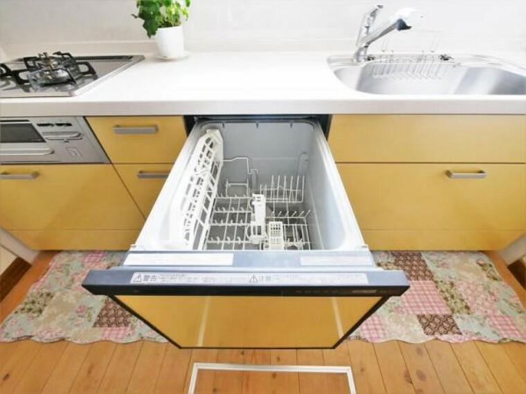 【食洗機】奥様にとってうれしい食洗機付きです