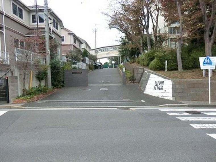 中学校 横浜市立橘中学校 約960m