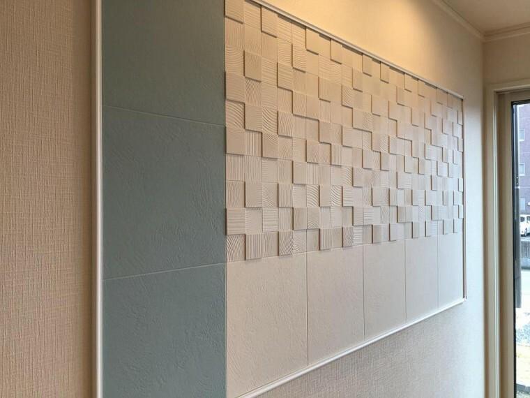 洋室 【A6号棟】LDK 造作 (2021年3月撮影)
