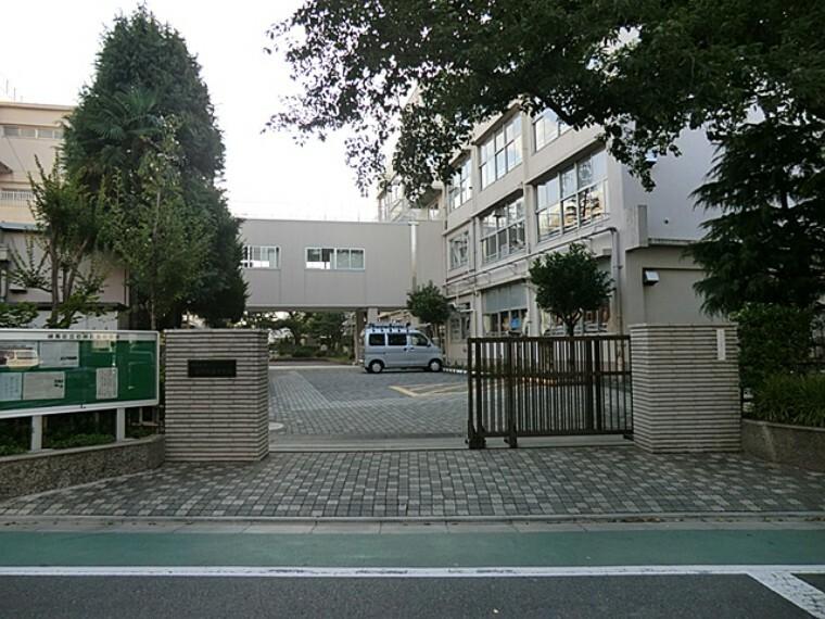 中学校 練馬区立石神井南中学校