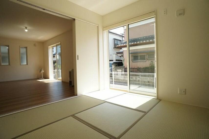 和室 ~Japanese‐style room~様々な使い方ができる和室付