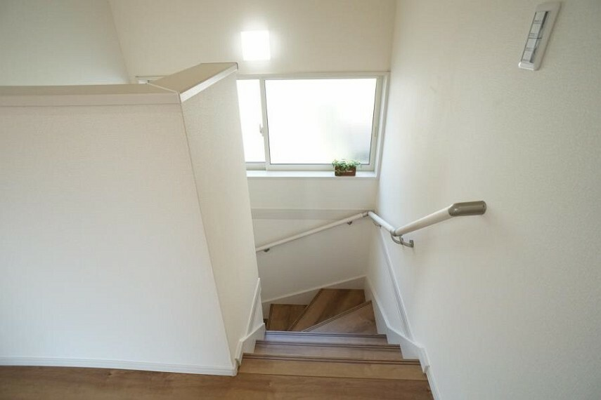 ~staircase~ 安全面に配慮、手すり付階段