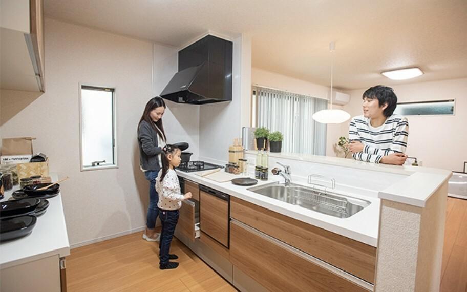キッチン 当社分譲施工例:キッチン
