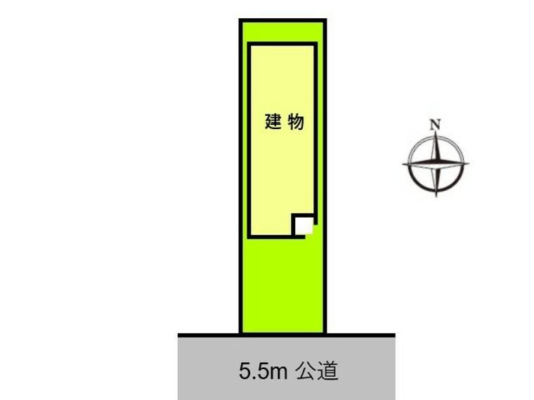 区画図 区画図 【名古屋市西区香呑町2丁目】