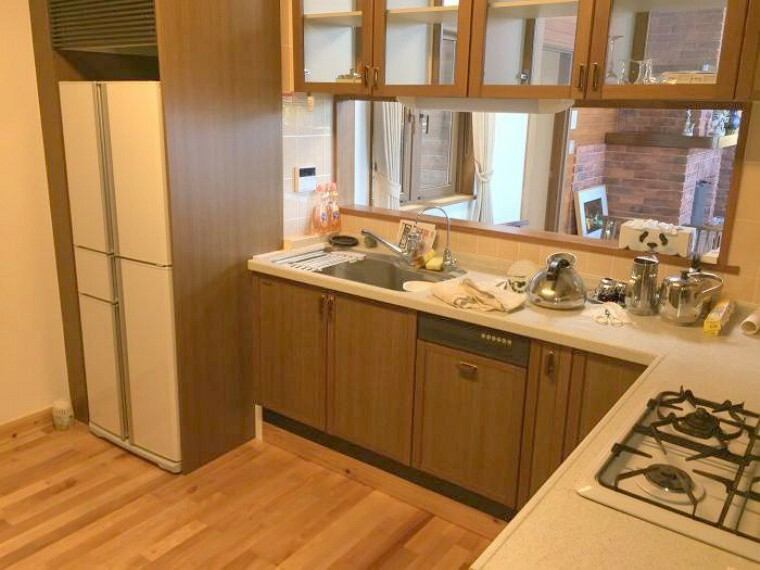 キッチン L字型キッチンには食洗機を完備!