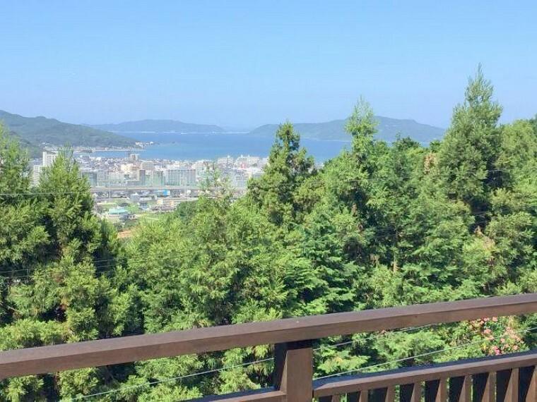 眺望 今津湾と街並みと緑!最&高