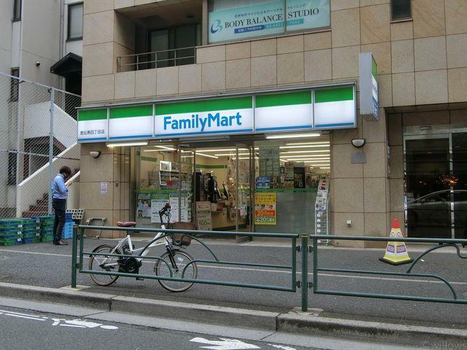 コンビニ ファミリーマート恵比寿四丁目店 徒歩4分。
