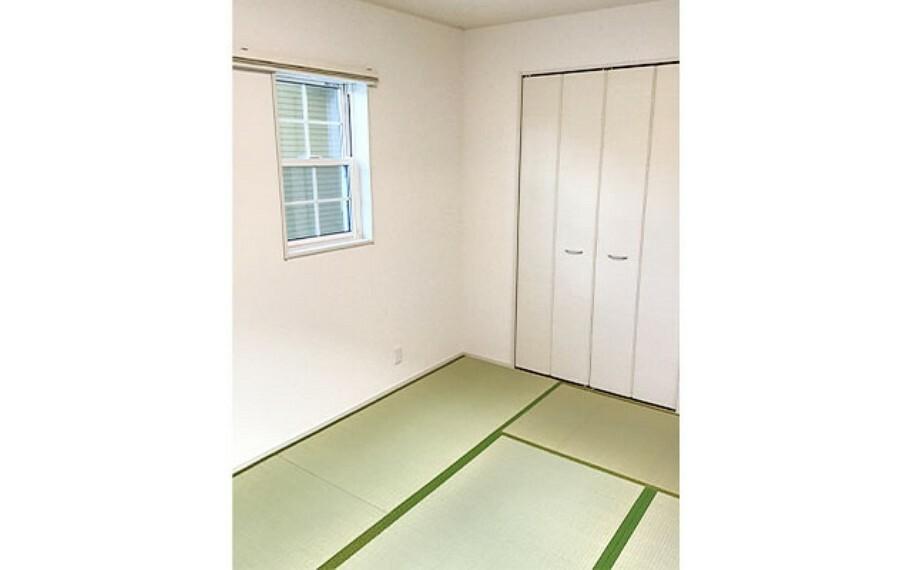 和室 現地写真:洋室畳敷き(46号棟)