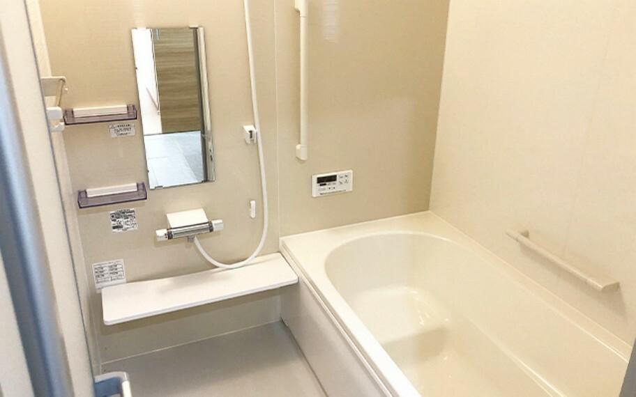 浴室 現地写真:浴室(6号棟)