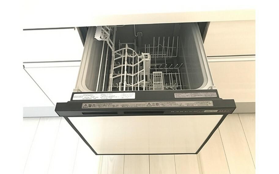 現地写真:食器洗浄乾燥機(1号棟)