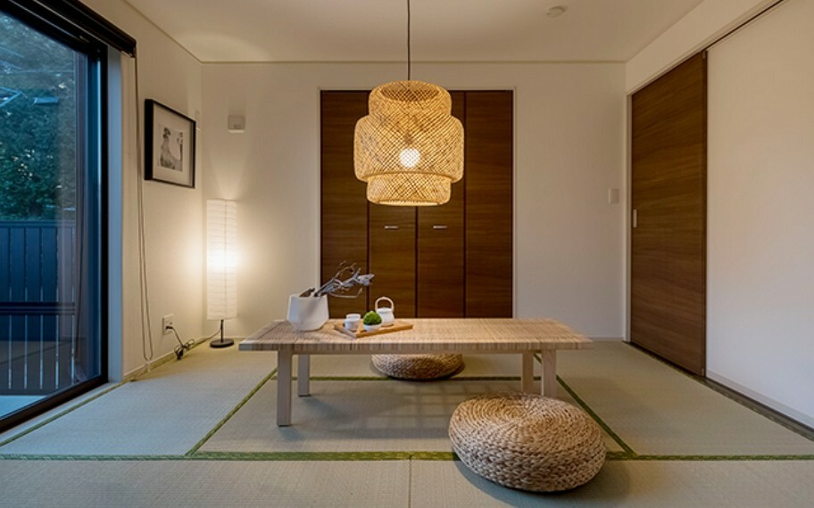 完成予想図(内観) 当社分譲施工例:洋室畳敷