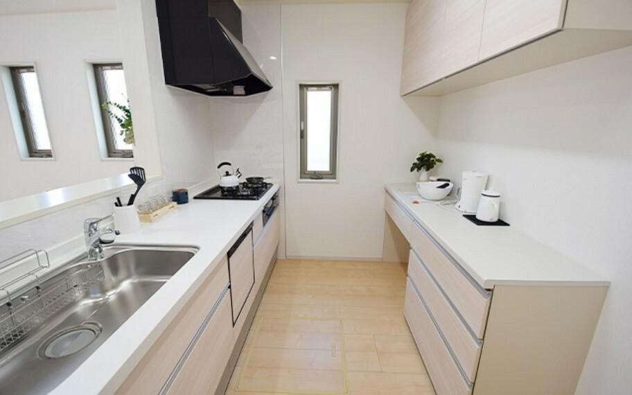 キッチン 現地写真:キッチン(26号棟)