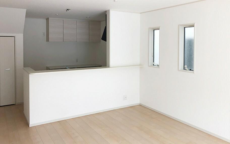 キッチン 現地写真:LDK(4号棟)