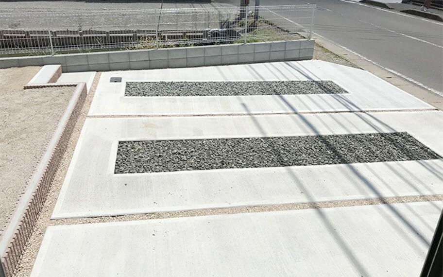 現地写真:駐車場(2号棟)