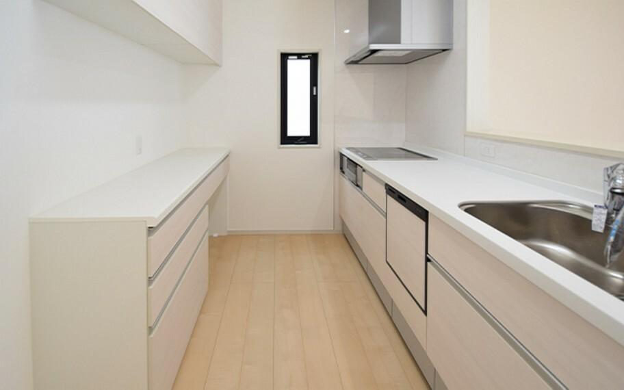 キッチン 現地写真:キッチン(2号棟)