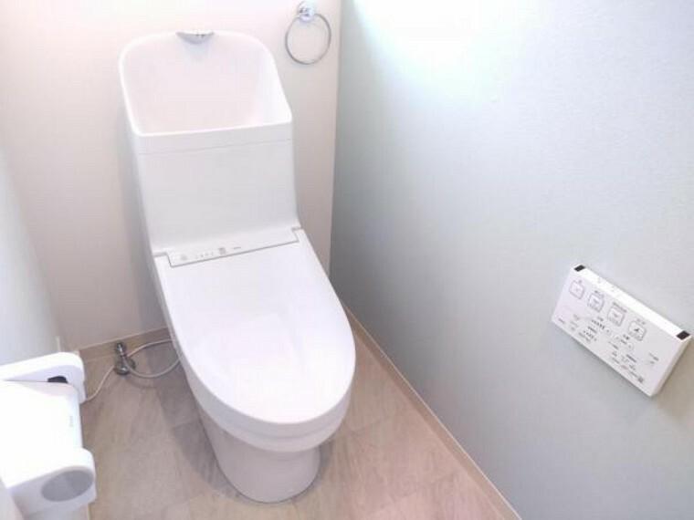 トイレ 【リフォーム済】トイレは既存のものを撤去し、TOTO製の新品に交換しました。
