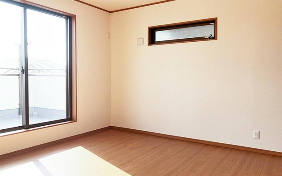 洋室 現地写真:洋室(1号棟)