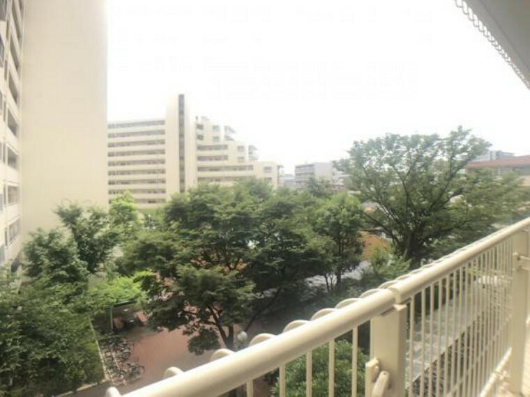 眺望 周辺は交通量も少なく閑静な住宅街です