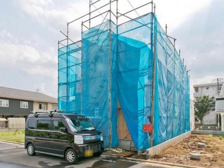 居間・リビング 現地写真(8月上旬)