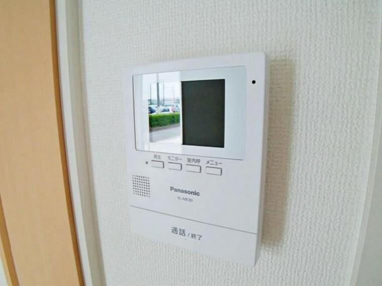 防犯設備 TVモニターホン 施工例(5号棟)