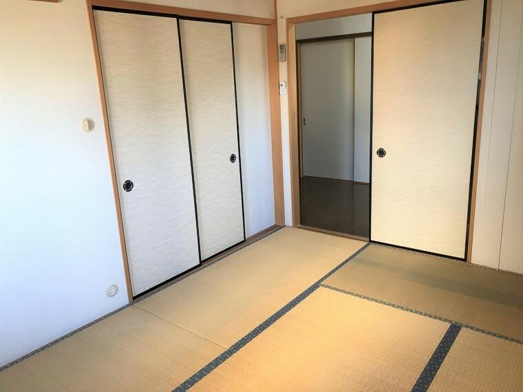 和室  和室はホッとくつろげる快適な空間です!
