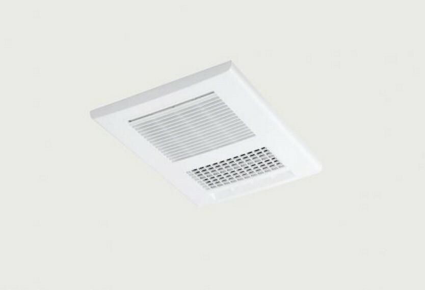 【同仕様写真】ユニットバスには浴室乾燥暖房機を設置します。寒い冬の気温の調整や、いやな梅雨時期など、浴室のカビ防止にも役立ちます。