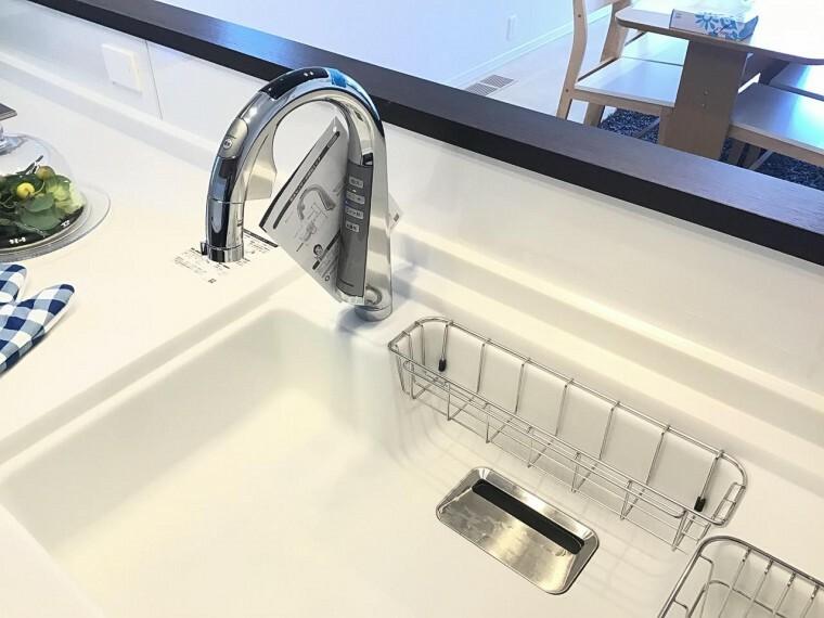 キッチン A区画センサー水栓(2021年3月撮影)